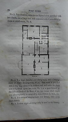 RARE OLD 1853 ITALIANATE CARPENTER-GOTHIC SOUTHERN PLANS HOUSEPLANS Rural Homes
