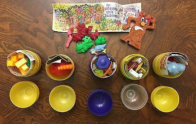 Vintage 6 TOYS-EGGS KINDER SURPRISE germany