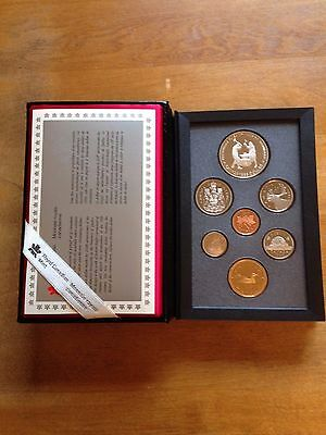1988 CANADA Double Dollar Proof Set CAMEO w / IRONWORKS SILVER DOLLAR