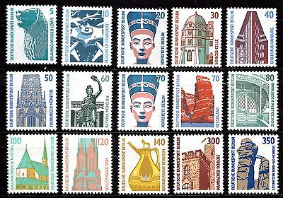 Germany - Berlin - Tourist Sites - A Full Set - Mint Never Hinged