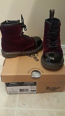 Toddler Girl Size 8 Dr. Martens Air Wair shoes boots