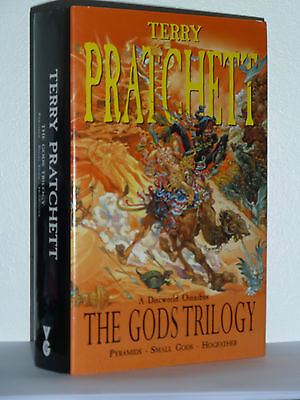 The Gods Trilogy By Terry Pratchett, Signed, 1St/1St In Excellent Condition