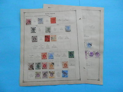 Hong Kong Old Collection 1862-1938 Extra Fine Dr Schultz Estate !!9253H