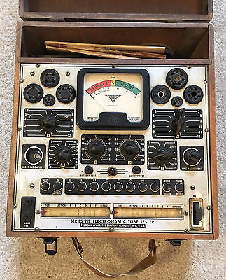 Precision Apparatus 912P Vintage Tube Tester, tested and working!