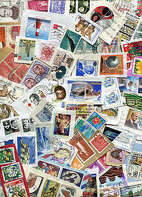 STAMPS KILOWARE MIXED COUNTRIES 225g. GOOD SELECTION OF STAMPS.