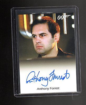 James Bond Archives Final Edition Anthony Forrest Autographed card #4