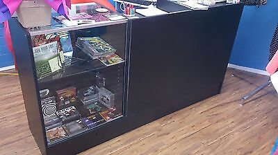Shop Counter with glass display