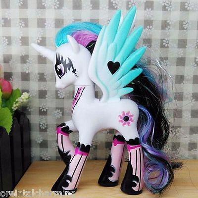 14cm Sun Princess Celestia My Little Pony Doll Action Figure Toy Kid Gift Style2