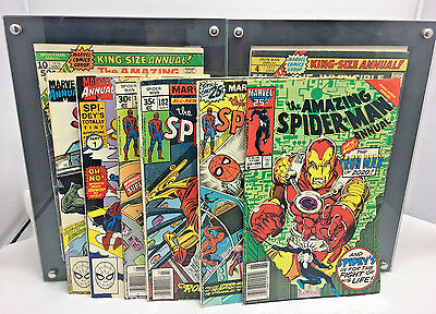 Vintage Marvel Comics THE AMAZING SPIDER-MAN Comic Books Lot Of 8