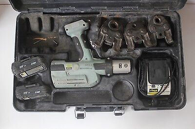 Viega Picco Pressgun + Jaws Battery Cordless Rechargeable Operate Pipe Press Kit