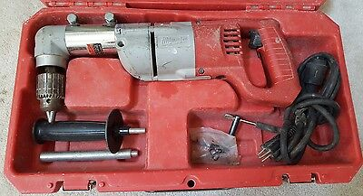 """Milwaukee 1/2""""  Corded Right Angle Drill TDX"""