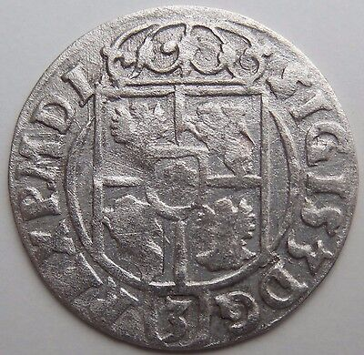 Lot n1 1623 AD Medieval Hammered Silver Coin Shipwreck Baltic Sea