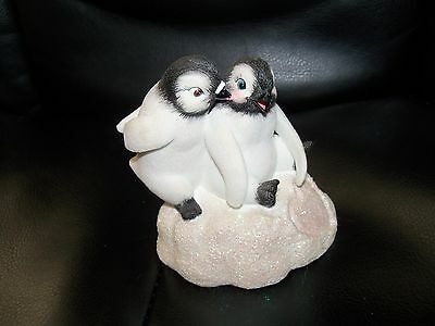 "My Heart Melts For U""Arctic Sweethearts"" Hamilton Collection Polar Playmates EUC"