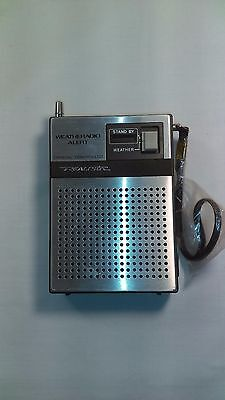 Vintage Older Realistic Wheatheradio Alert Model No:12-181