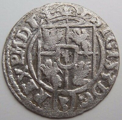 Lot n3 1623 AD Medieval Hammered Silver Coin Shipwreck Baltic Sea