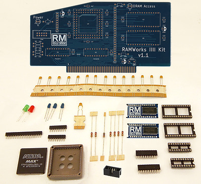 RAMWorks IIII Kit v1.1 for Apple IIe by ReactiveMicro