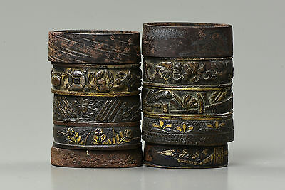 FUCHI Japanese Antique Swords Katana Fittings Koshirae Samurai Wakizashi Tanto