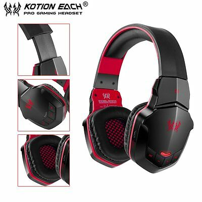 EACH B3505 Wireless Bluetooth 4.1 Stereo Gaming Headphone Headset Support NFC FR
