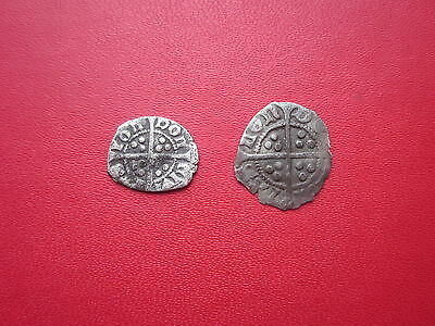 Edward Farthing & Halfpenny Both London Mint Detector Finds