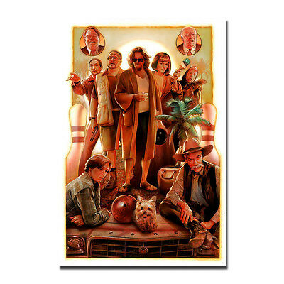The Big Lebowski Classic Movie Art Silk Poster Prints 12x18 24x36 inches 003