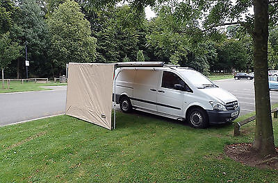 2.5M x 2.2M Front Awning Extension For Pull Out Awning
