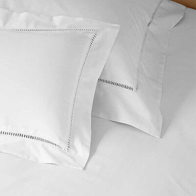 Linens Limited 100% Cotton Percale 1000 Thread Count Oxford Pillow Case, White