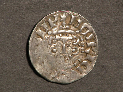 GREAT BRITAIN 1216-1272 1 Penny Henry III Silver VF