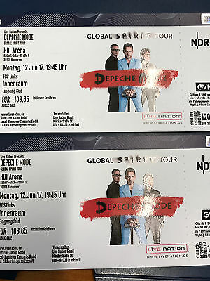 2 tickets depeche mode hannover innenraum eur 81 00 picclick de. Black Bedroom Furniture Sets. Home Design Ideas