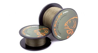 Nash Tackle NEW NXT Bullet Braid 200m Fishing Line *All Breaking Strains*