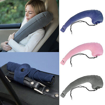 Travel Pillow Head Neck rest Ultimate Rated Comfortable Skyrest Inflatable UK