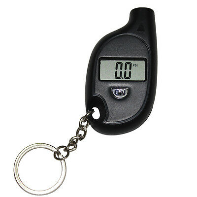 Portable Mini Keychain LCD Digital Car Tyre Tire Wheel Air Pressure Gauge Tester