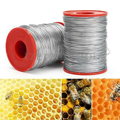 500g #24 Stainless Steel Bee Hive Frame Foundation Craft Wire Bee Keeping Tool