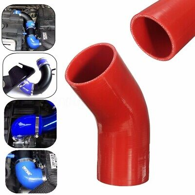 45/90 Degree Silicone Hoses Bend Elbow Reducer Rubber Coupler Tube Joiner Pipe