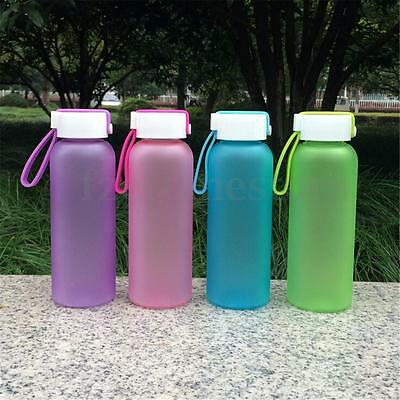400ML Kids Outdoor Sports Camping Running Cycling Drink Water Bottle