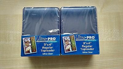 Ultra Pro Top Loaders Sleeves x50