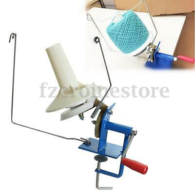 10oz Hand Operated Yarn Winder Fiber Wool String Ball Thread Skein Winder