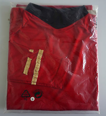STAR TREK Uniform - Classic - rot - Top - NEU - S