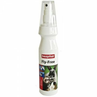 Beaphar Fly Free For Rabbits Ferrets Guinea Pigs protects against Flies Fleas