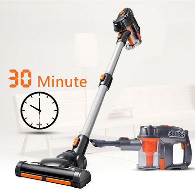 6800pa Cordless Rechargeable Vacuum Cleaner Vac Handheld 2-in-1 Hand Stick AU