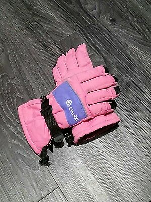 Girls snow gloves