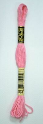 DMC Stranded Cotton Embroidery Floss, Colour 894 Very Light Carnation