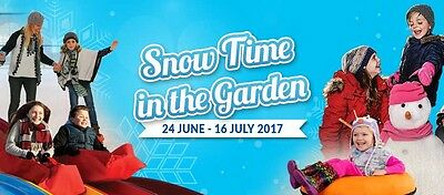 WEEKEND for 4 at Pokolbin Resort Fri 7 - Sun 9 July 2017 Snowtime in the Garden!