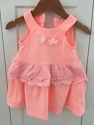 Pumpkin Patch baby girls Dress Size 3-6 Months 00