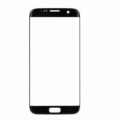 For Samsung Galaxy S7 Edge Digitizer Front Glass Touch Screen Replacement Black