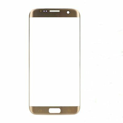 For Samsung Galaxy S7 Edge G935 Gold Touch Screen Digitizer Front Glass Lens