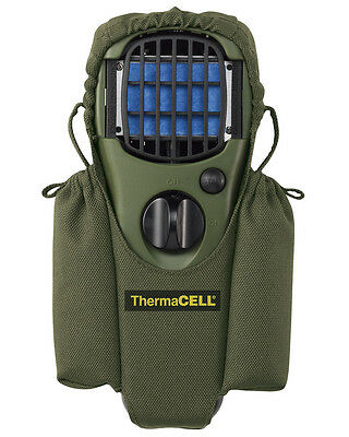 New ThermaCELL Mosquito Repellent Unit Holster Olive Green MR-HJ