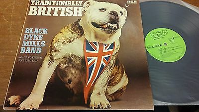 "Traditionally British: Black Dyke Mills Band: 12"" LP Records"