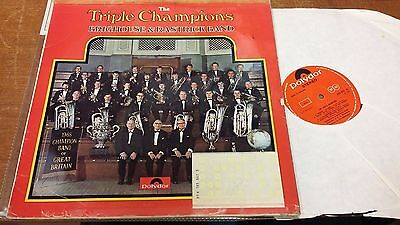 """Brighouse And Rastrick Brass Band: Triple Champions: 12"""" LP Records"""