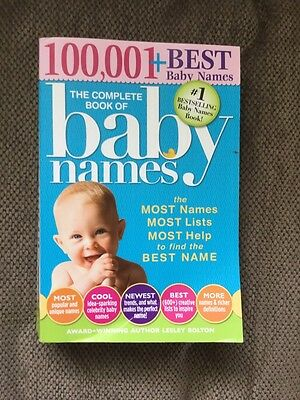100,001 The Complete Book Of Baby Names
