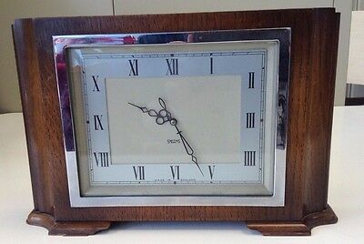 Vintage Smith's 8 Day Mantle Clock Made in England Spares & Repairs